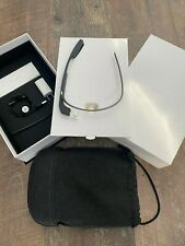 Google Glass Explorer Edition - Charcoal - accessories & pouch - Slightly Used