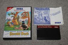 Sega Master System -  The Lucky Dime Caper Donald Duck - Complete - Boxed - VGC