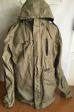 Hurley Covert Jacket Trucker Hooded Coat Men XL Military Style Multiple Pockets