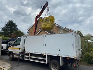 iveco daily tipper hiab 2013