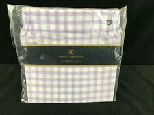 Mens purple white plaid cotton boxer shorts underwear Brooks Brothers Size S New