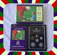 1999 proof coin set International Year of Older Persons