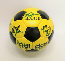 adidas Munich 70`s official Fussball matchball / signiert Nationalmannschaft