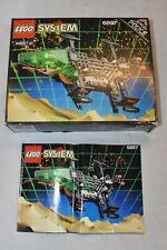 Vintage Lego Space Police Rebel Hunter 6897 box & Instructions ONLY
