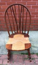 High Point Bending & Chair Company Rush Seat Windsor Childs Rocker Rocking Chair