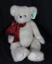 "Bearington Teddy Bear Plush Stuffed Toy Animal Brown Rascal 1269M With Tag 16"""