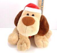 Hallmark Christmas Jingle Bell Puppy Dog Hat Scarf Barks Jingle Bell Song