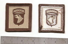 #227 US ARMY 101ST HELMENT PATCH