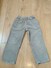 Mini Boden Beige Corduroy Trousers Age 5-6