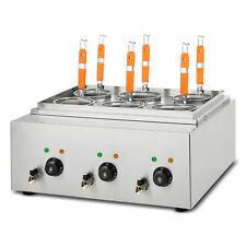 vertes 3 x 1700 W cuocipasta elettrico cestello professionale per gastronomia