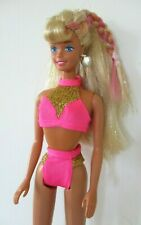 Vintage 1990s Splash n Colour Barbie doll with beautiful hair