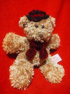 "Russ TEDDY BEAR 9"" Plush STUFFED ANIMAL Toy"