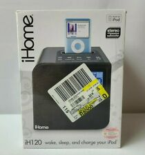 iHome iH120B Apple iPod iPhone 30 pin Radio Charging Dock Speaker