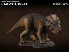 Rebor 1:35 scale Baby Triceratops dinosaur model (Hazlenut - Scout Series) BNWT