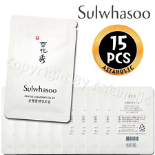 Sulwhasoo Gentle Cleansing Oil EX 4ml x 15pcs (60ml) Sample AMORE New Version