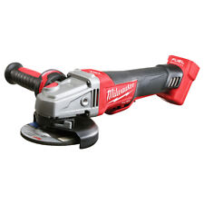 "Milwaukee 2783-20 M18 FUEL 18V 4-1/2"" / 5"" Braking Grinder w/ Flange Nut"