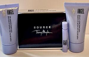 Thierry Mugler Angel 30ml Perfuming Body Lotion 30ml, Shower Gel 30ml +1.2ml EDP