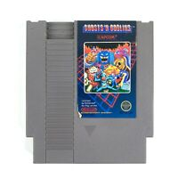 Ghosts 'n Goblins (Nintendo NES, 1986) Authentic Cartridge Polished Pins Tested