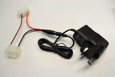 Battery charger to fit Lake Reaper Bait Boat Batteries (UK pin)