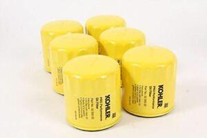 6 PACK GENUINE OEM KOHLER 52-050-02-S Pro Performance Oil Filter 52 050 02-S