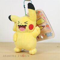 Pokemon Center Original Everyone Wobbuffet Pikachu Plush Mascot Key Chain