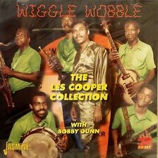WIGGLE WOBBLE 'THE LES COOPER COLLECTION' WITH BOBBY DUNN - 2CD Set on Jasmine