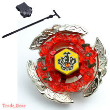 Fusion Beyblade Masters Metal BB116C HELL CROWN 130FB w/ Power Launcher