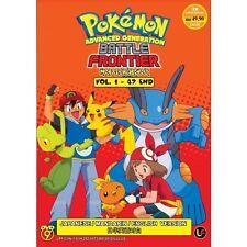DVD Pokemon Advanced Generation : Battle Frontier (TV 1 - 47 End) DVD + Free Gif