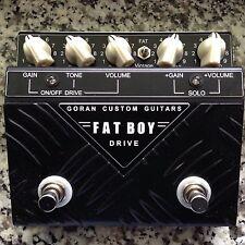 NEW! Goran Custom Guitars Fatboy 2 Drive, Bonamassa, Billy Gibbons, lance LOPEZ +