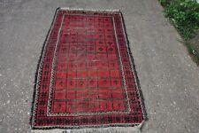 Persian Baluch Baluchi Tribal Rug 3.4x5.7