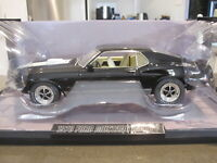 1:18 HIGHWAY 61 50644 1970 FORD MUSTANG 428 MACH 1 BLACK *NEW*