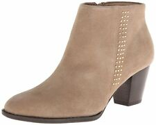 New Vionic Georgia Oat Suede Ankle Boots Without Box Size 8.5 M  $139