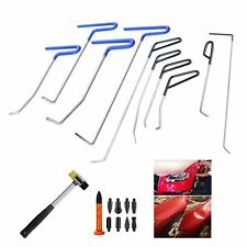 10pieces PDR RODS PDR Tools Paintless Dent Repair kit Auto Body Tools hammer