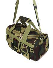 "13"" DUFFLE BAG WOODLAND Camo Carry On Luggage Light Duty Range Bag Duffel"