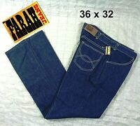 BACKSTOCK NWT NEW VINTAGE 1970s FARAH Bootcut Denim Jeans Made in USA Mens 36x32