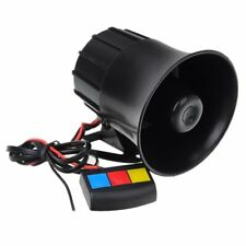 Motorcycle Car Van Vehicle Loud Siren Security Horn 12V with 3 Sounds T2O5 B9Y8