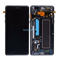 For Samsung Galaxy Note 7 N930 FE LCD Display Touch Screen Digitizer+Frame Black