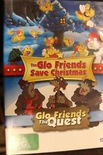 THE GLO FRIENDS SAVE CHRISTMAS / THE QUEST RARE OOP DELETED DVD CARTOON FILM