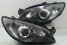 06-08 Subaru Impreza WRX Rev9 GDB GG XENON HID SMOKED STI Headlights Head Lamps