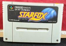 Star  Fox Cartridge Only SNES NTSC-J Japanese VGC