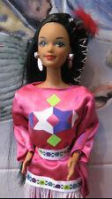 Rare Exclusive 1996 Native American Coll.Ed. Barbie Doll~Bend Legs~1994 Costume