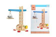 Spielzeug-Kran aus Holz, 38cm hoch, Holzspielzeug, von WOODEN TOYS