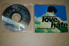 Sakamoto - Love & hate. CD-Single PROMO (CP1705)