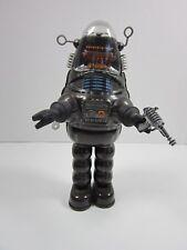 "Billiken 9"" Robby the Robot Tin Wind-Up with Disintegrator Ray Gun"