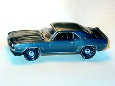 1969 69 CHEVROLET CHEVY CAMARO SS COLLECTIBLE DIECAST TOY CAR -Blue Poly, LOOSE