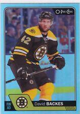 David Backes 2016-17 O-Pee-Chee Platinum Hockey sobre Hielo, Arco Iris ,