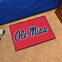 "University of Mississippi (Ole Miss) Durable Starter Mat - 19"" X 30"""