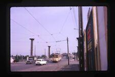 Original tram/Strassenbahn slide - France - Valenciennes - 1968
