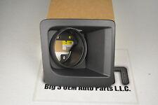 2014-2015 GMC Sierra 1500 Black Front Fog Lamp Bezel new RH Side OEM 22902335