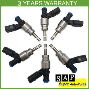 TUPARTS Fuel Injectors Set 4pcs 6Holes Fuel Injector Parts fit for Audi A4//A4 Quattro//A5//A5 Quattro//A6//A6Quattro//Q5//TT//TTQuattro//A3//A3Quattro,VolkswagenCC//Eos//GTI//Tiguan//Golf//Beetle//Jetta